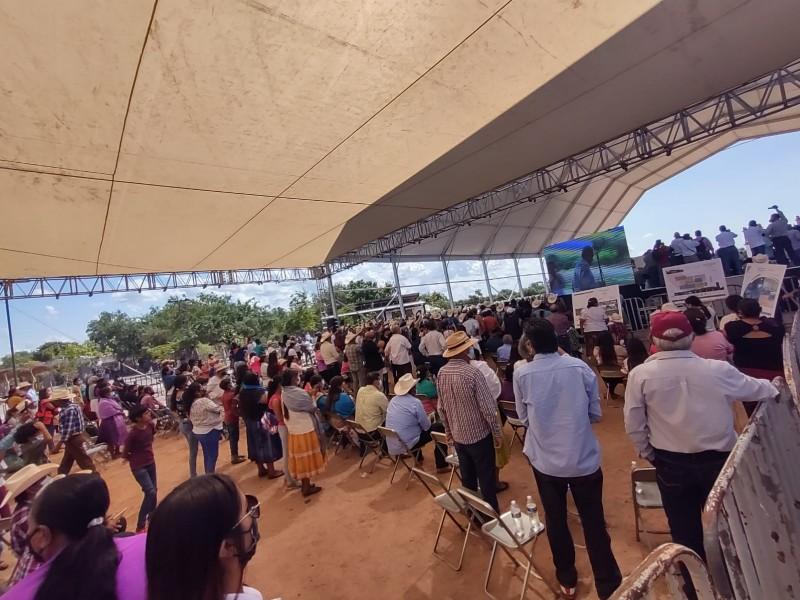 Firma plan de Justicia Yaqui, les prometen inversión millonaria