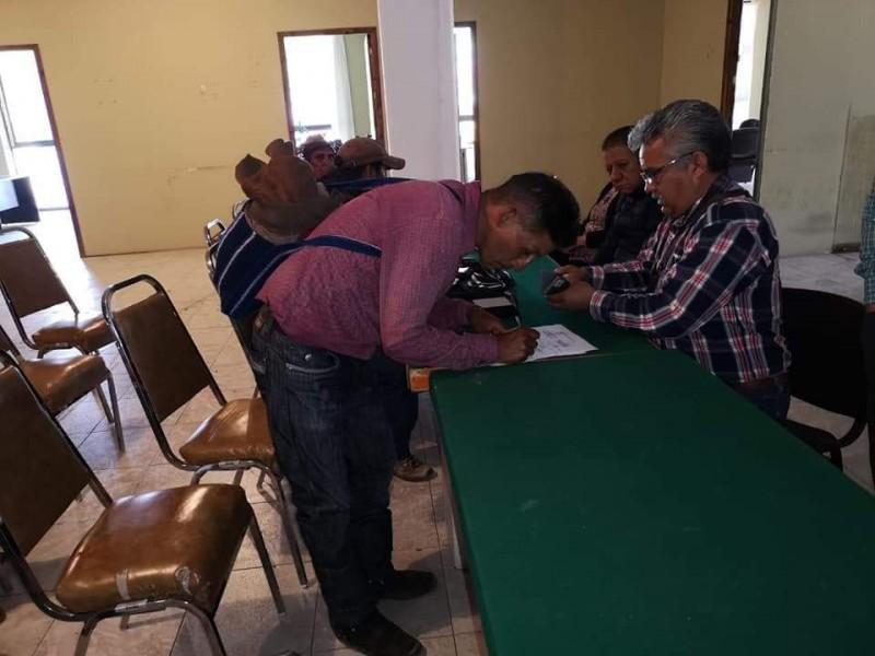 Firman acuerdo de Paz comunidades de San Cristóbal