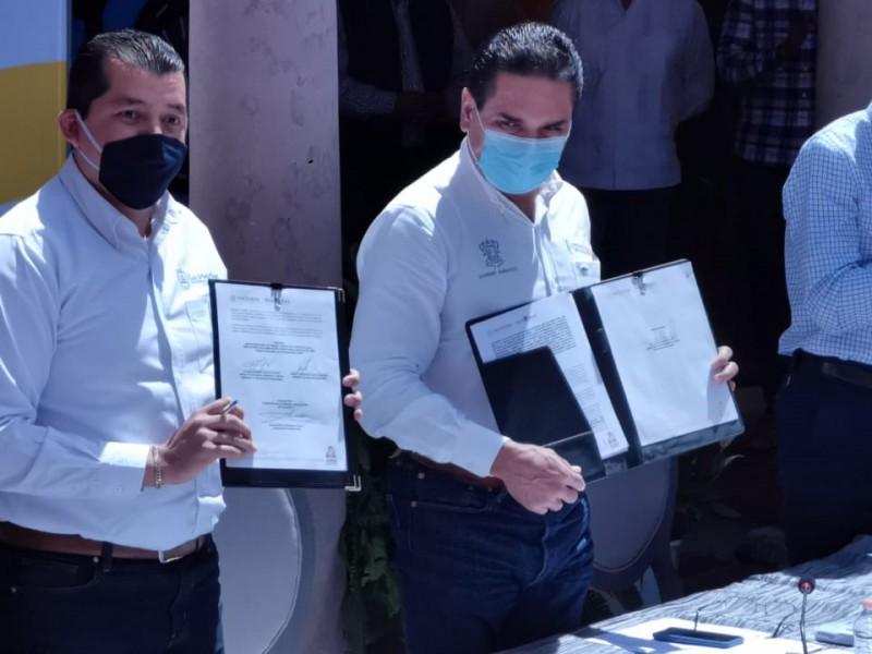 Firman ayuntamientos convenio para tratamiento de basura