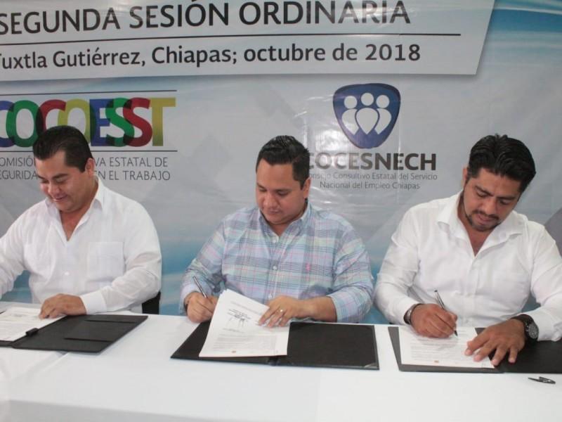 Firman Convenio de Coordinación ST y STPS en materia de Seguridad y Salud en el Trabajo