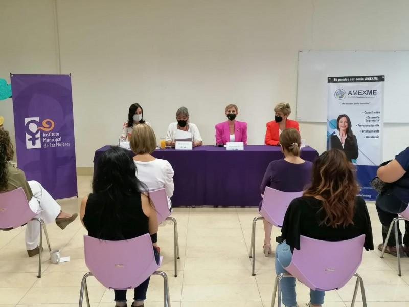 Firman convenio para el fortalecimiento económico de mujeres