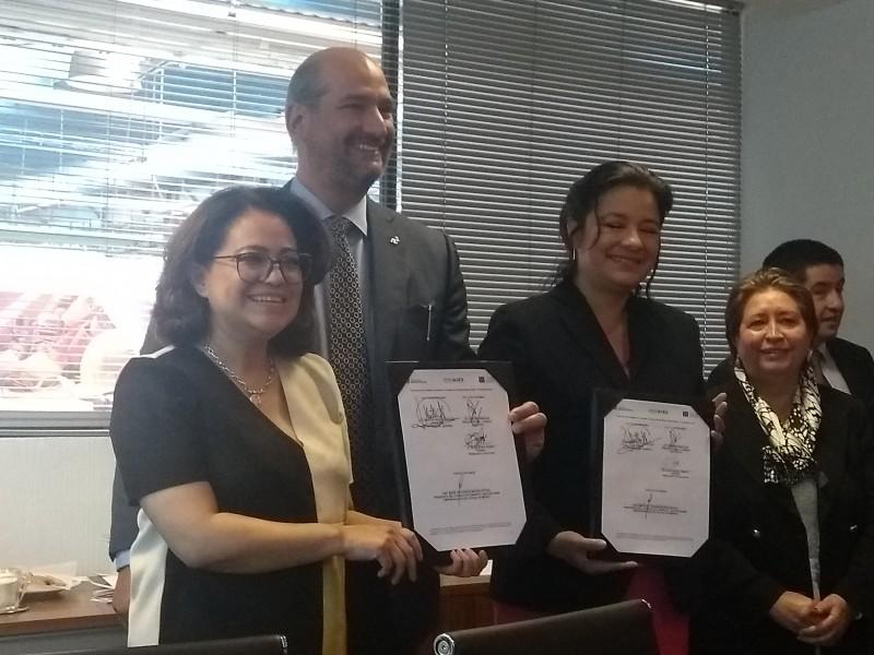 Firman convenio sector automotriz y Secretaría del Trabajo