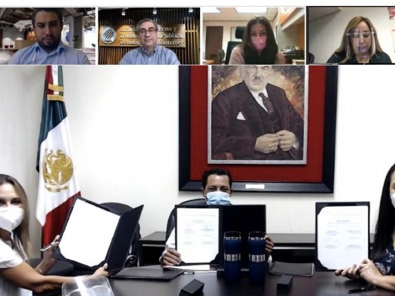 Firman convenio Tec de Monterrey y PRI Sonora