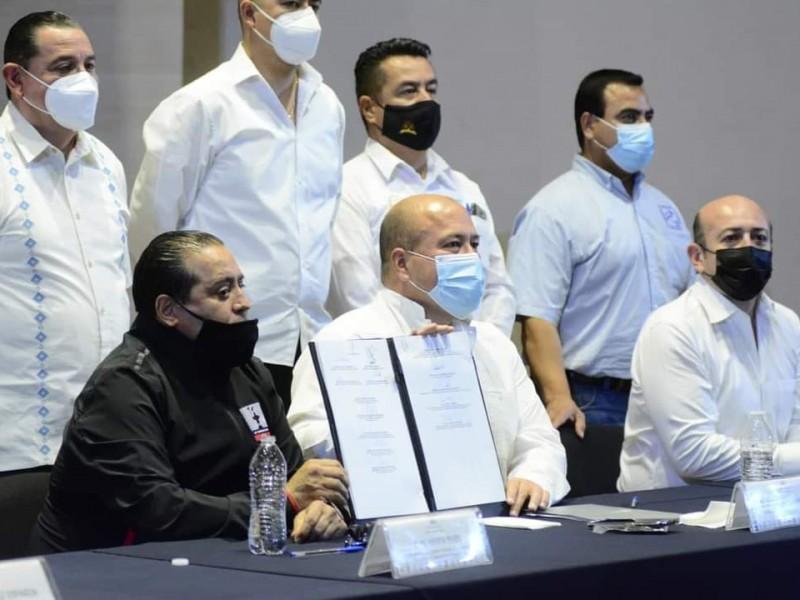 Firman la alianza sindical por Jalisco