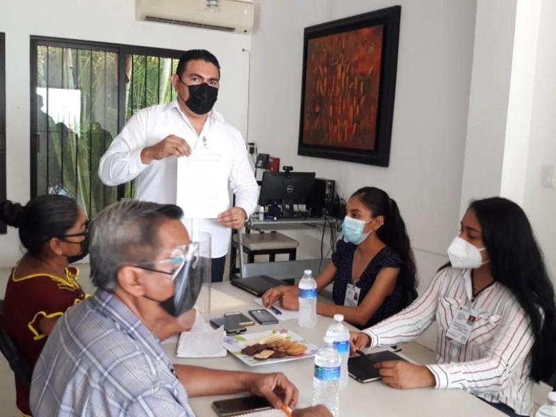 Firman pacto de civilidad en el Consejo Electoral de Juchitán