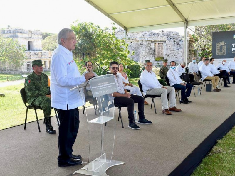 Firman Programa de Ordenamiento Territorial de Tren Maya