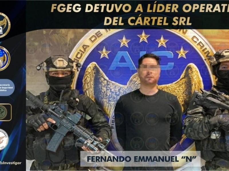 Captura a líder operativo del Cartel SRL sucesor del Marro
