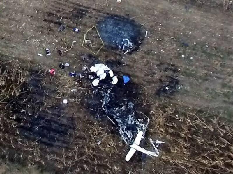 Fiscalía detiene a 4 implicados con accidente aéreo en Puebla