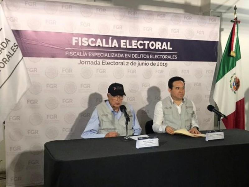 Fiscalía electoral, alerta por comicios