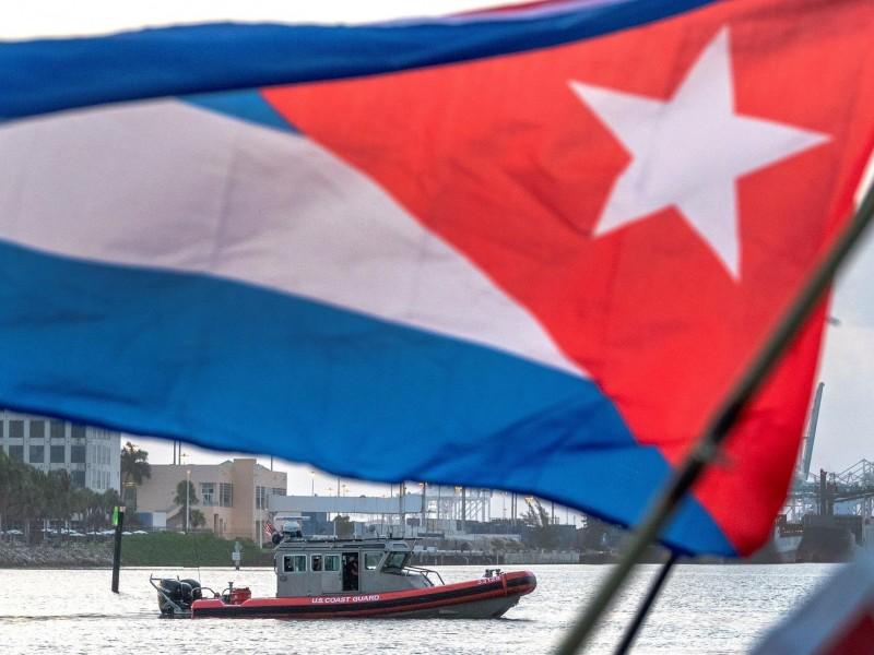 Flotilla en apoyo a manifestaciones en Cuba regresa a Miami