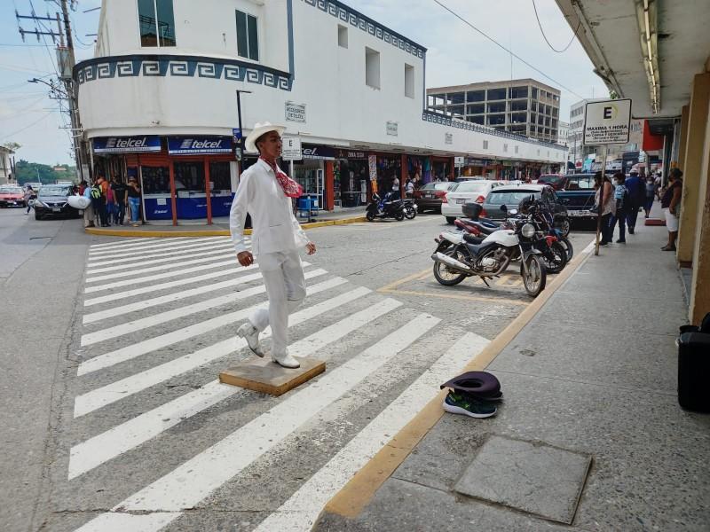 Folklore en las calles de Tuxpan