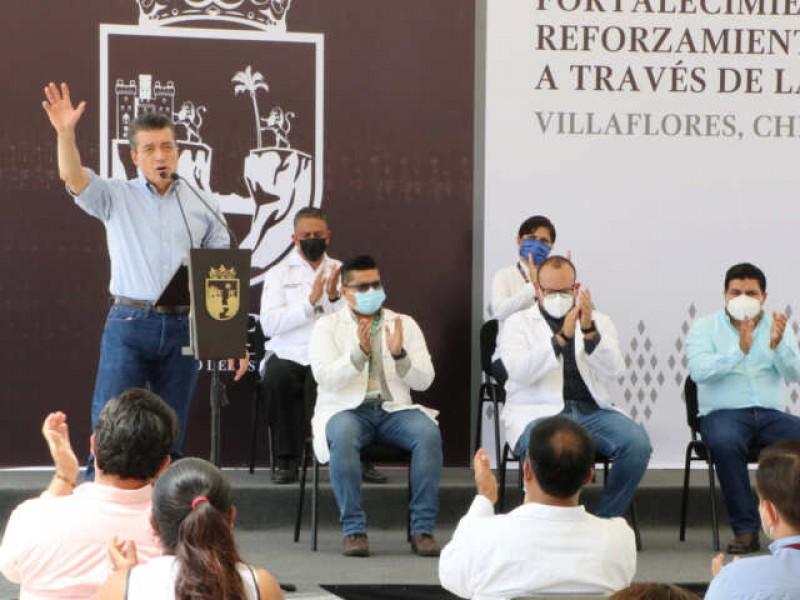 Fortalece Chiapas red de frío para conservación de vacunas