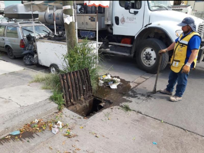 Fortalecen acciones preventivas por lluvias en Zamora