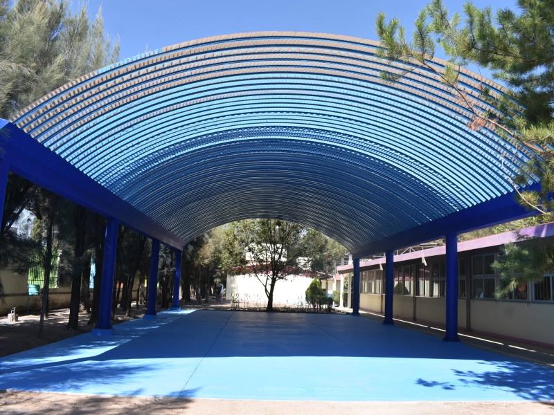 Fortalecen infraestructura educativa en Pedro Escobedo