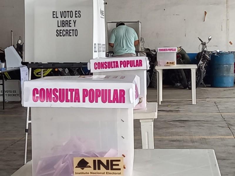 Fracasa Consulta Popular Veracruz; Distrito 03 sumó baja participación