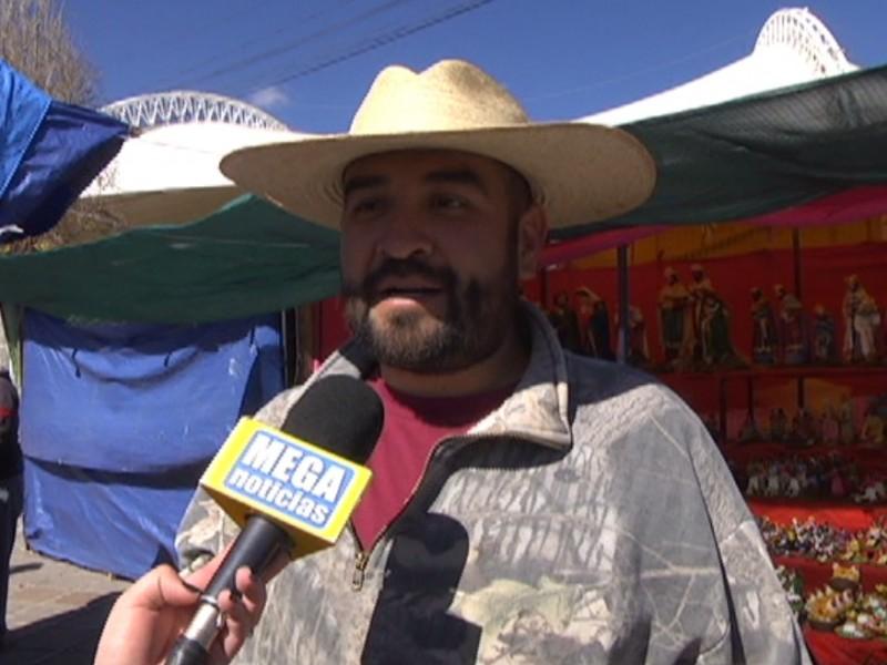 Fracasa la Villa Navideña de Zacatecas, denuncian comerciantes