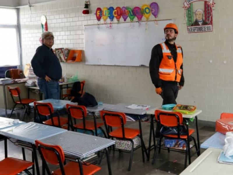 Francia apoya reconstrucción de escuela dañada en CDMX