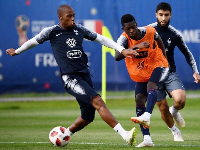 Francia cierra preparación para enfrentar a Bélgica