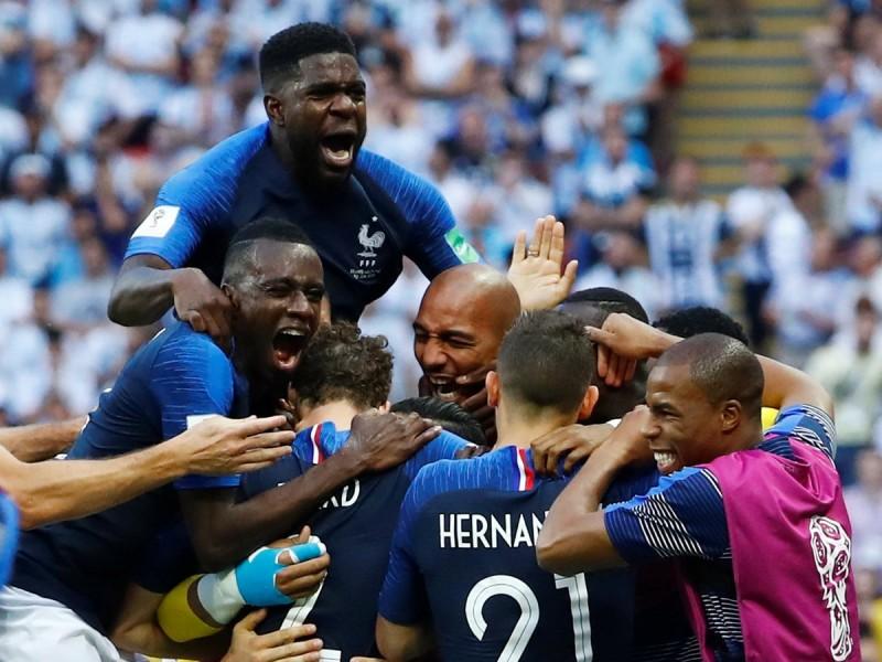 Francia elimina a Argentina de Rusia 2018