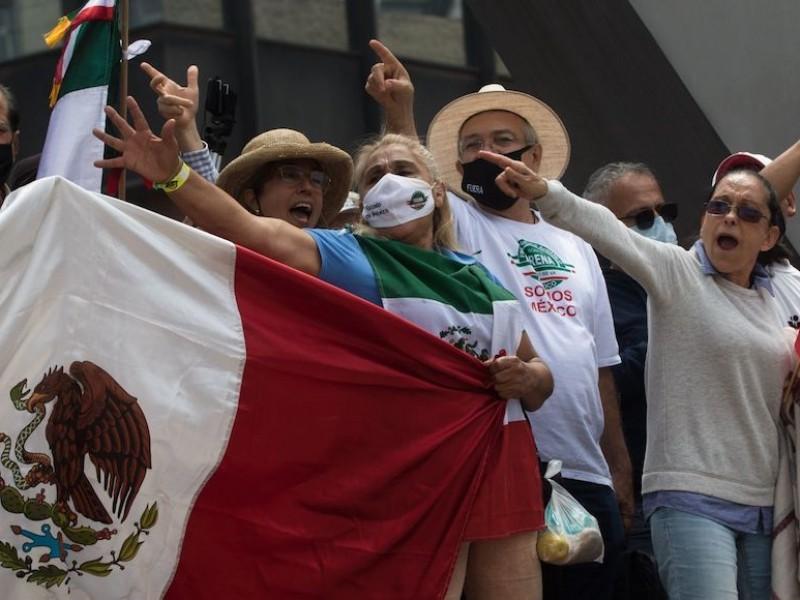 FRENA traslada su movimiento hacia el Zócalo capitalino