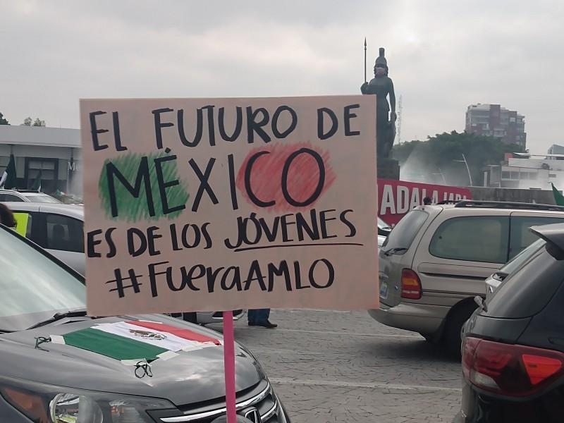 Frenaaa realiza caravana en Guadalajara
