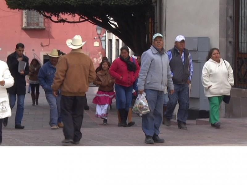Frente frío 36 reduce temperaturas en Querétaro