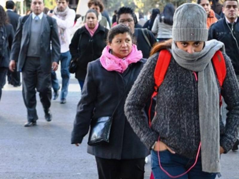 Frente frío ingresará a México