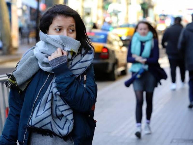 Frente frío registra descenso de temperatura en Ahome