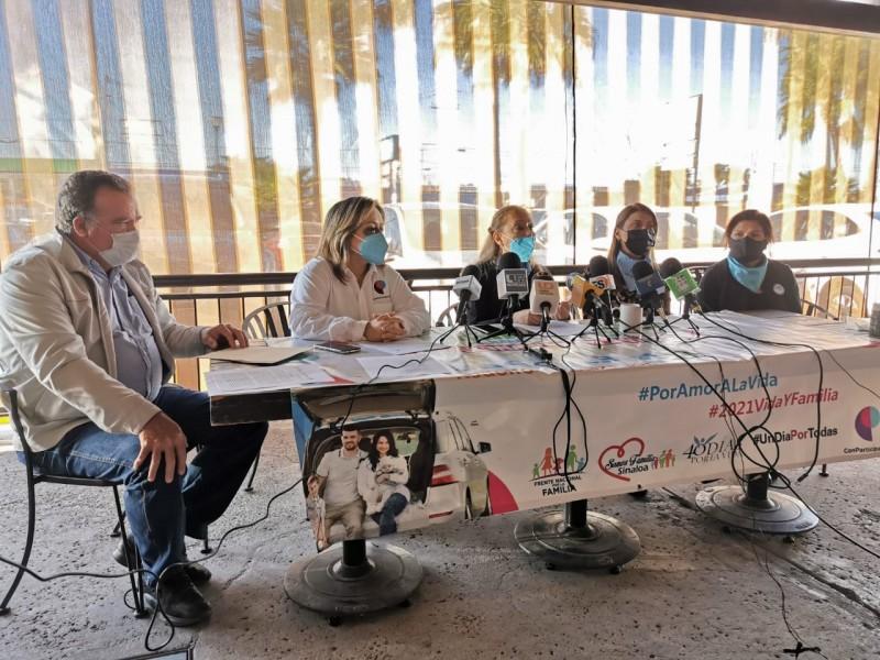 Frente Nacional Por La Familia invitan a Caravana