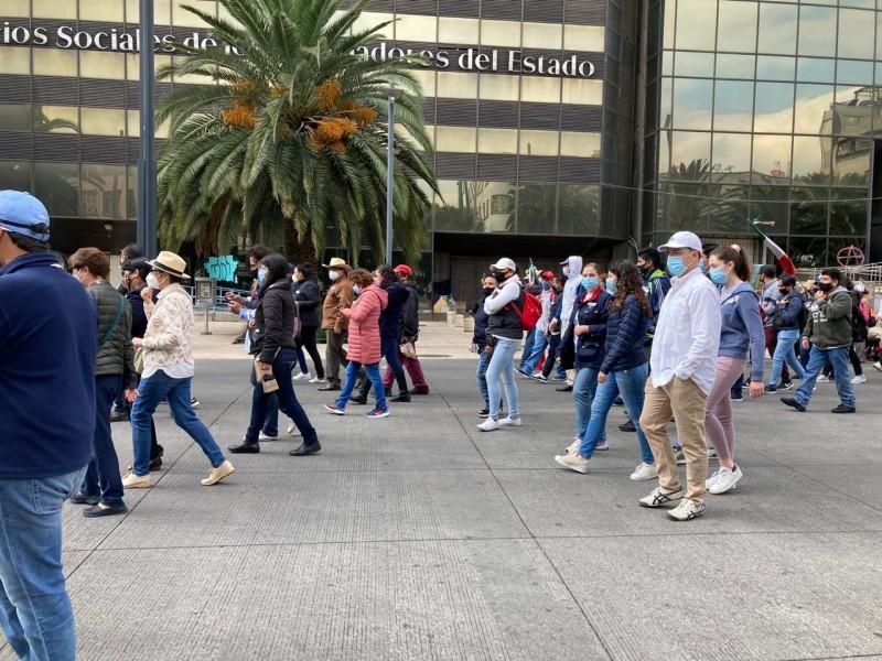 """""""¡Fuera López!"""", consigna durante protesta de FRENAAA"""