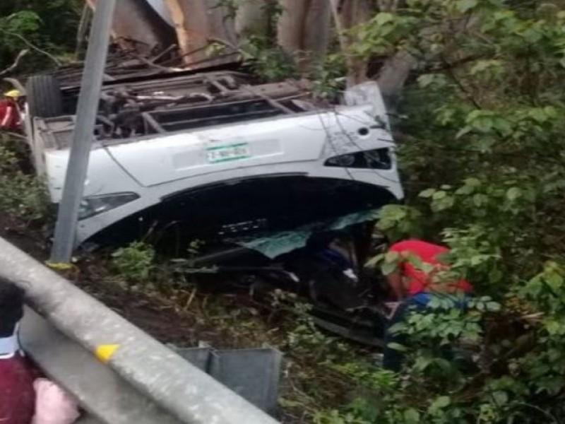 Fueron 11 muertos en accidente de Compostela