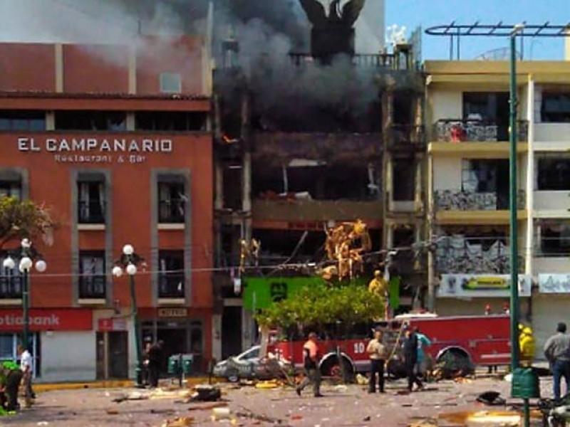 Fuerte explosión en Tepetitlán, deja 2 muertos
