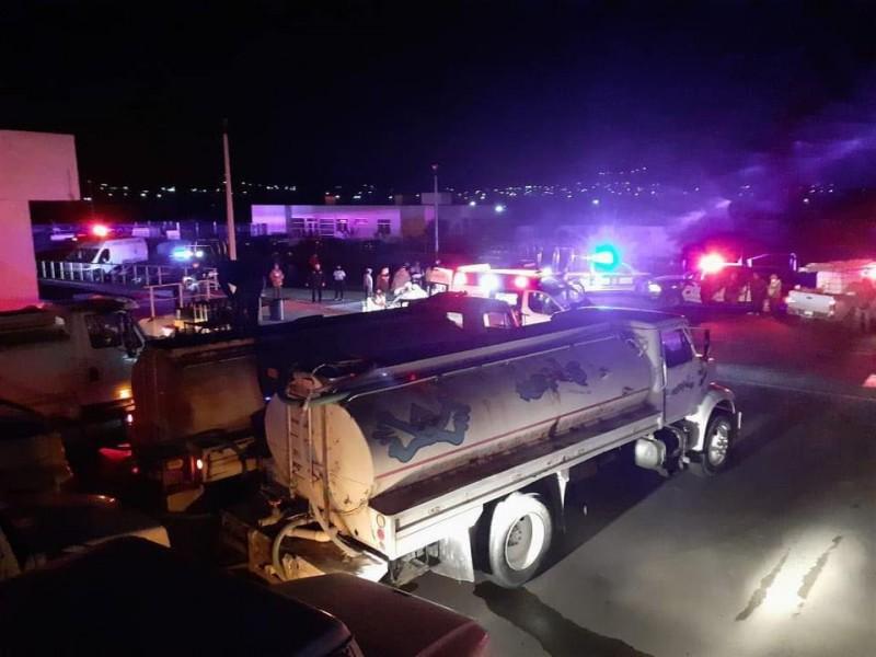 Fuerte incendio en Hospital de Ixmiquilpan, Hidalgo