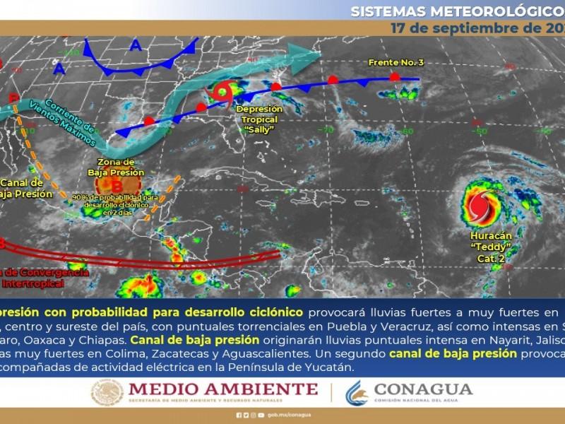 Fuertes vientos y baja probabilidad de lluvias, continúan altas temperaturas