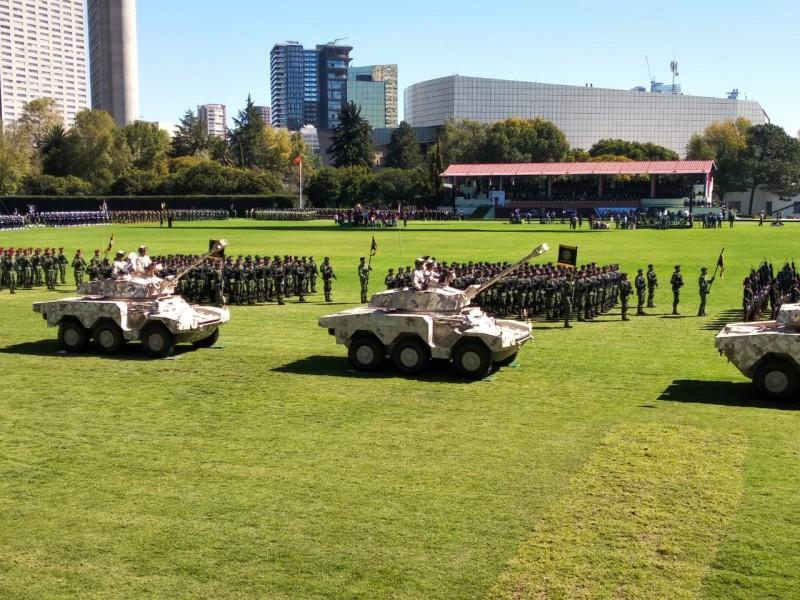 Fuerzas Armadas, obligadas a participar en seguridad: Sedena