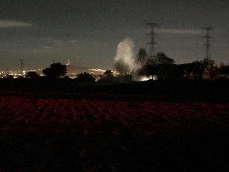 Fuga de combustible genera alarma en Los Encinos