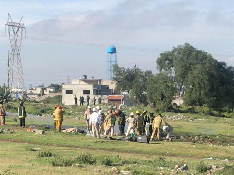 Fuga de gas en Ecatepec por toma clandestina