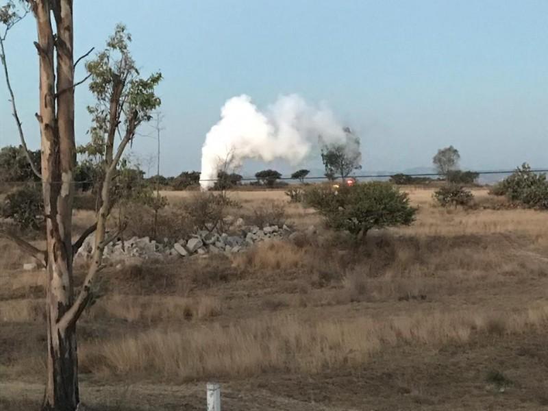 Fuga de Gas en San Juan del Río