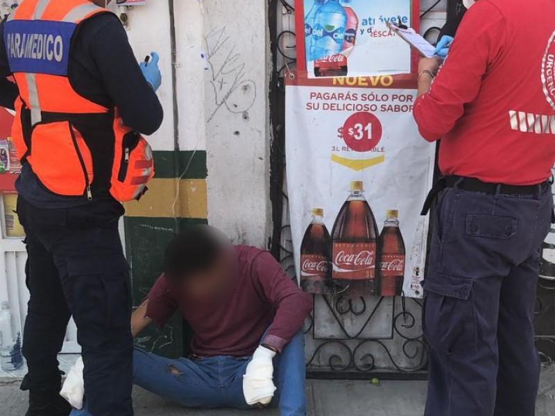Fuga en pipa de gas provoca quemaduras en trabajadores