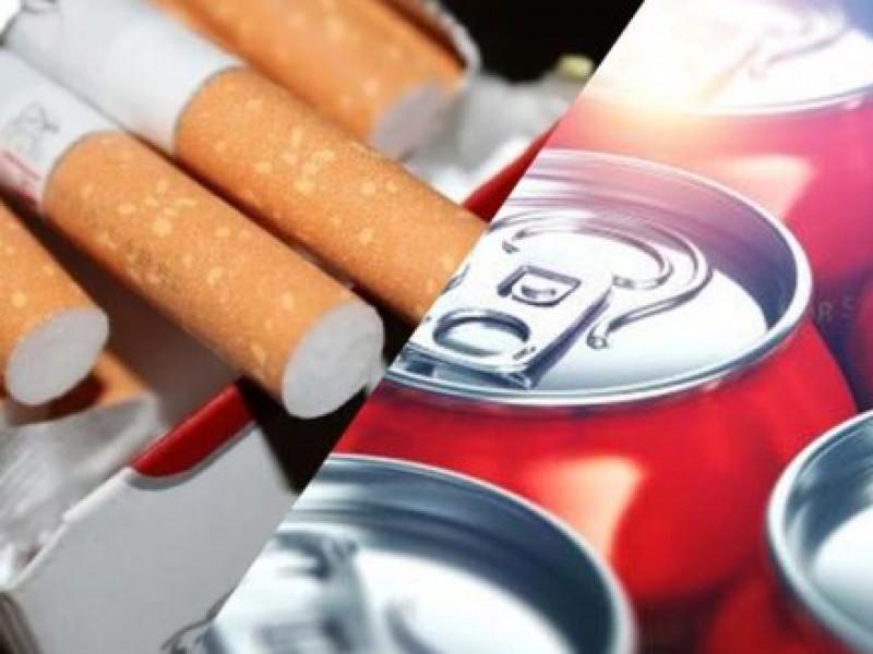 Fumar y tomar refresco saldrá caro este 2020
