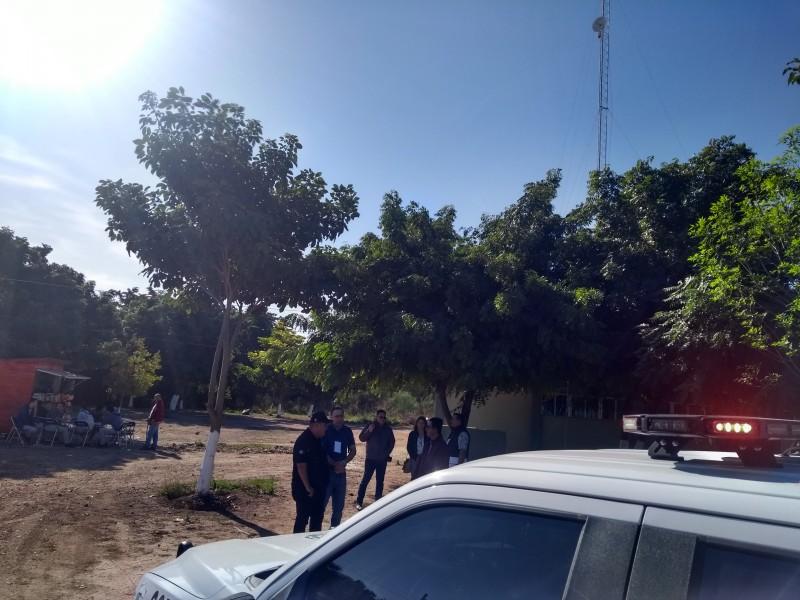 Fumigación en predio aledaño a escuela alerta a PC