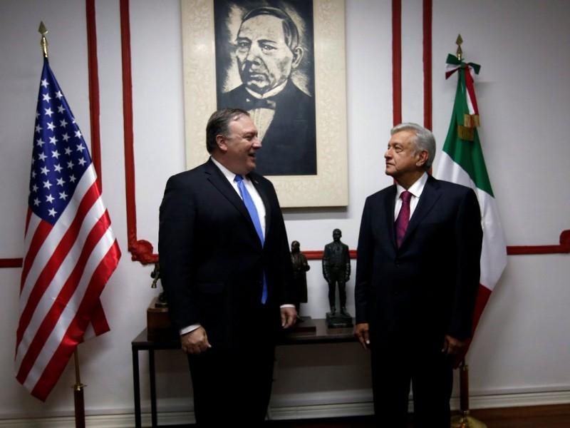 Funcionarios de EUA concluyen reunión con AMLO