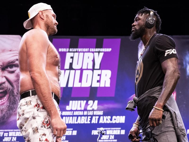 Fury vs Wilder III es este fin de semana