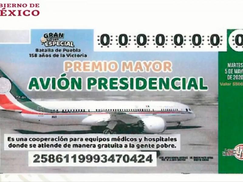 Futuro del avión presidencial se definirá la próxima semana: AMLO