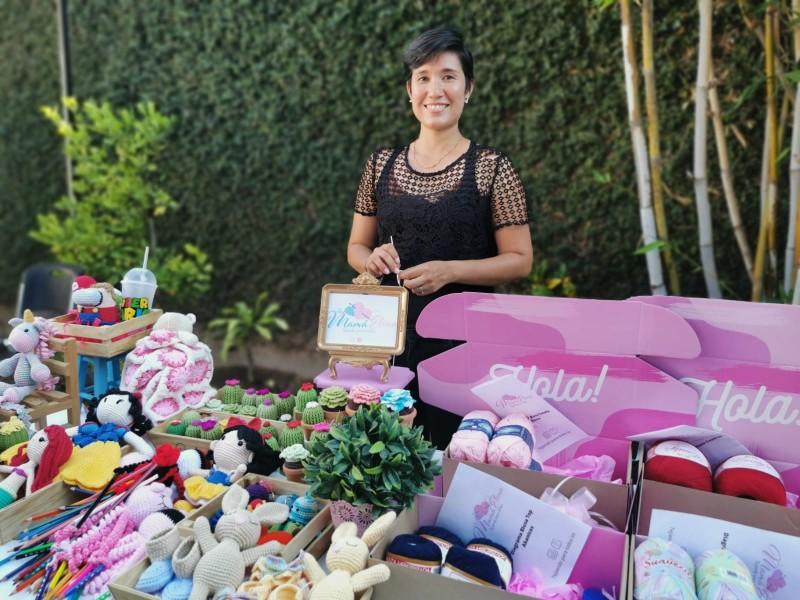 Gabi Acuña, artista del crochet crea hermosos Amigurumis