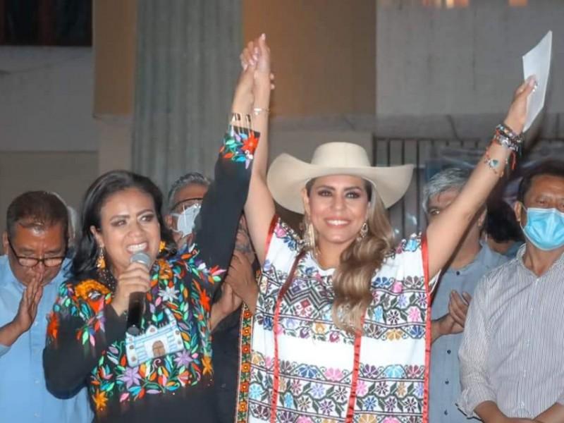 Gana Evelyn Salgado con ventaja de 63 mil votos
