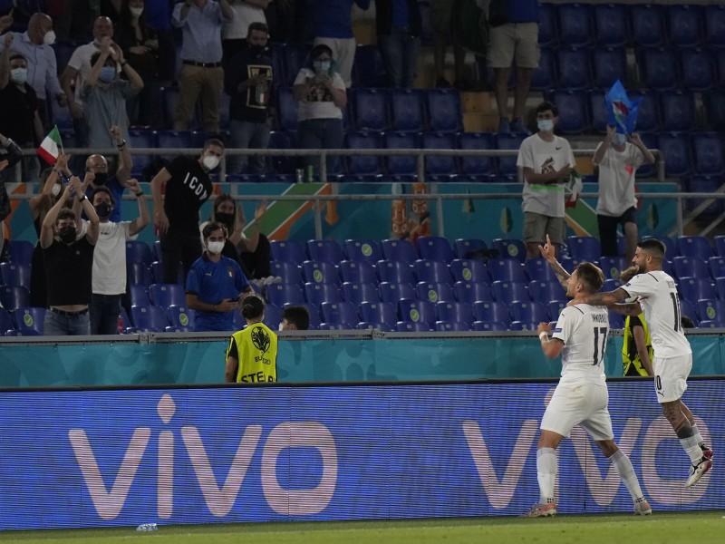 Gana Italia en partido inaugural de la Eurocopa