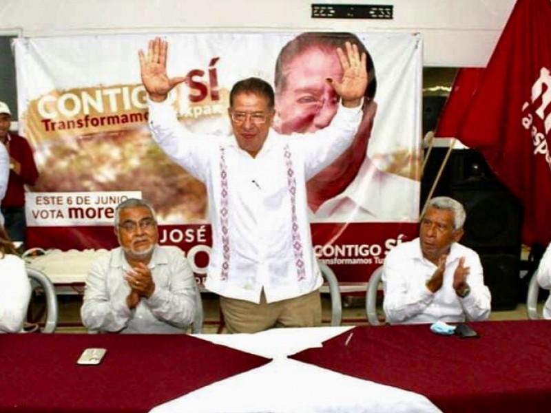 Gana MORENA elección en Tuxpan