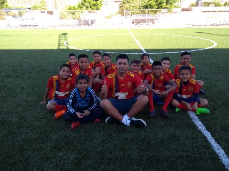 Ganan guaymenses tercer lugar en futbol estatal