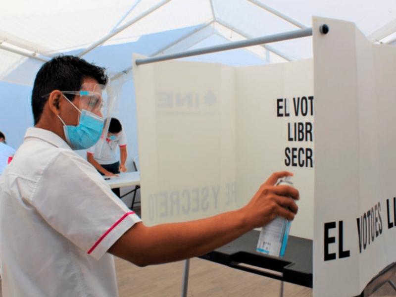 Garantiza OPLE jornada electoral sin riesgos de contagio